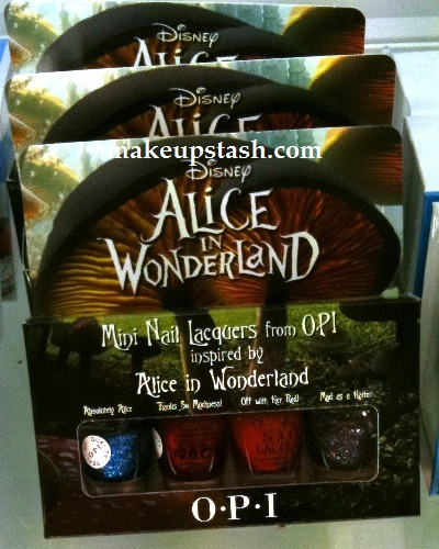 OPI Alice in Wonderland Mini Nail Lacquer Set