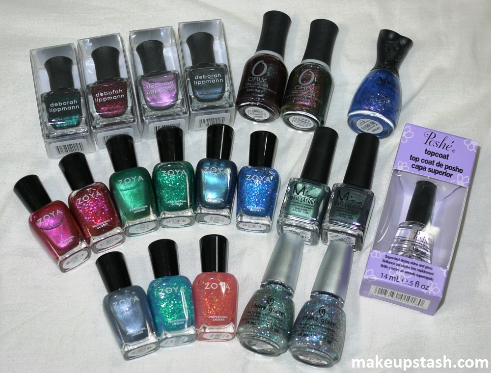 BeautyAsia 2012 Haul – China Glaze, Deborah Lippmann, Misa, Nfuoh, Orly and Zoya~!
