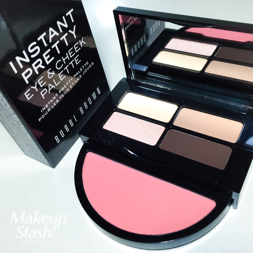 Travel Exclusive: Bobbi Brown Instant Pretty Eye & Cheek Palette