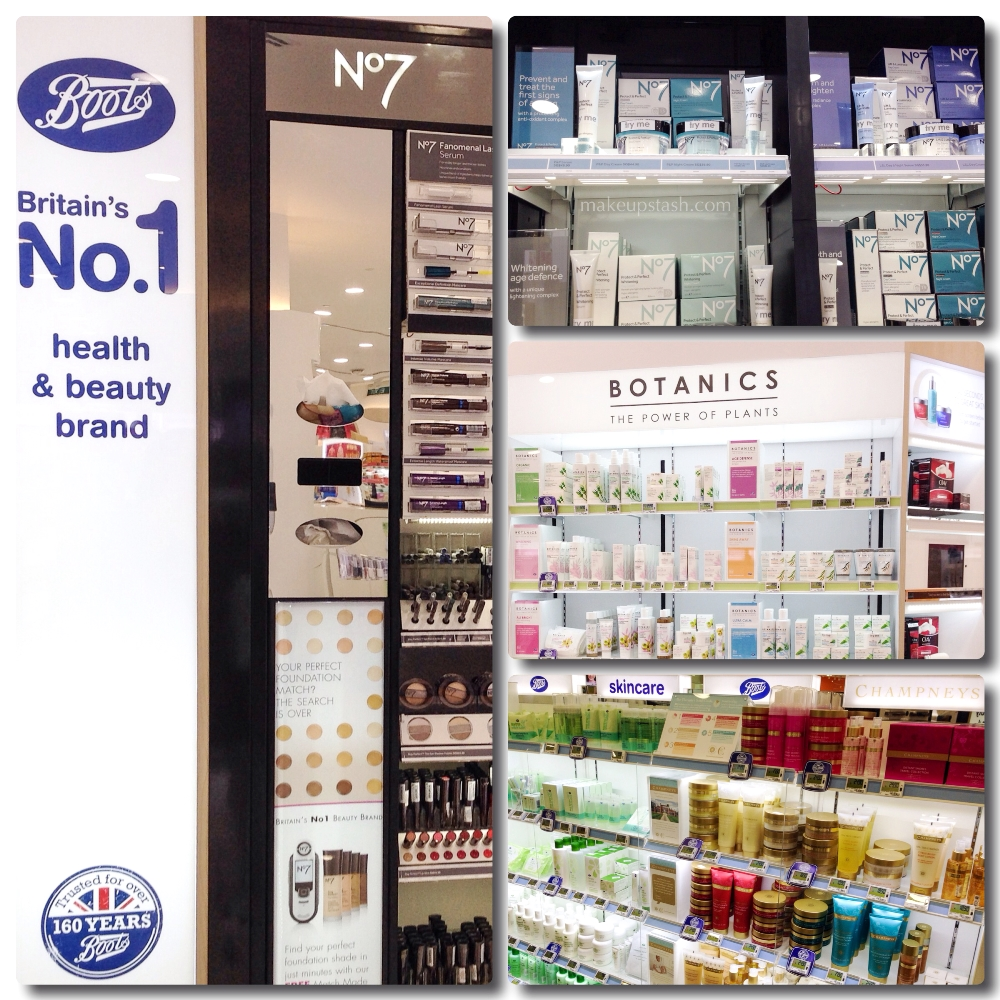 Boots Products in Singapore