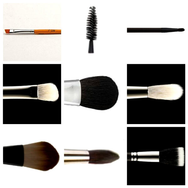 Makeup Brushes I Currently Use