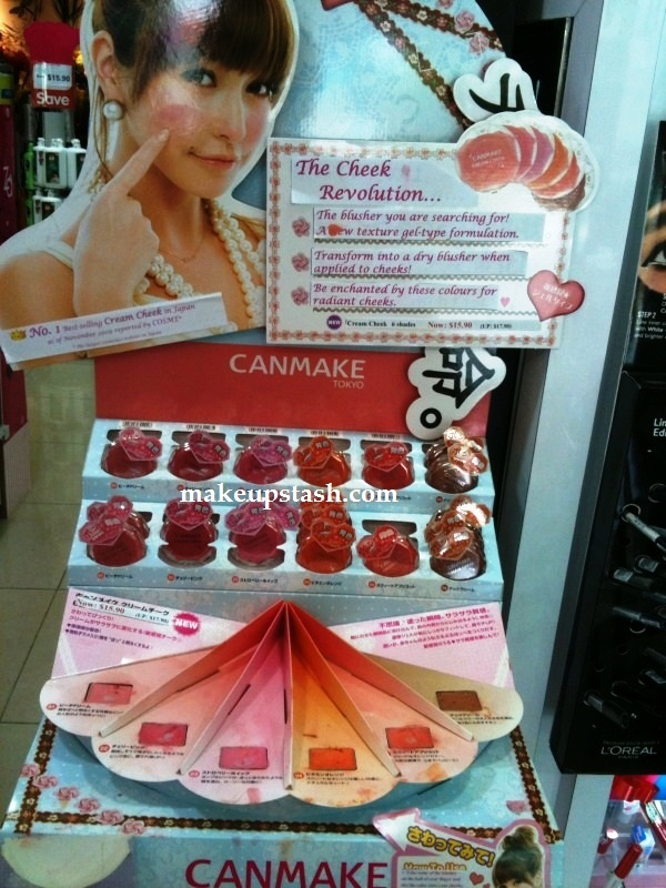 Canmake Cream Cheek Stand
