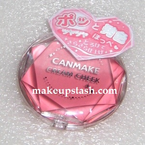 Canmake Cream Cheek in 01 Peach Dream