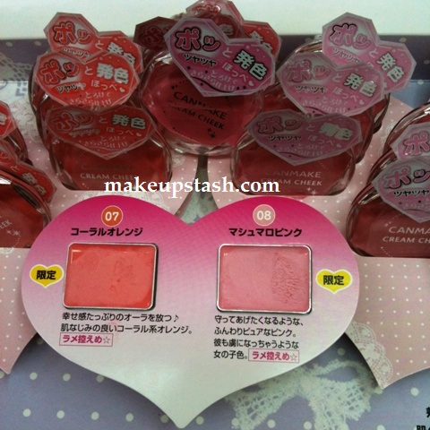 New Limited Edition Canmake Cream Cheek Shades