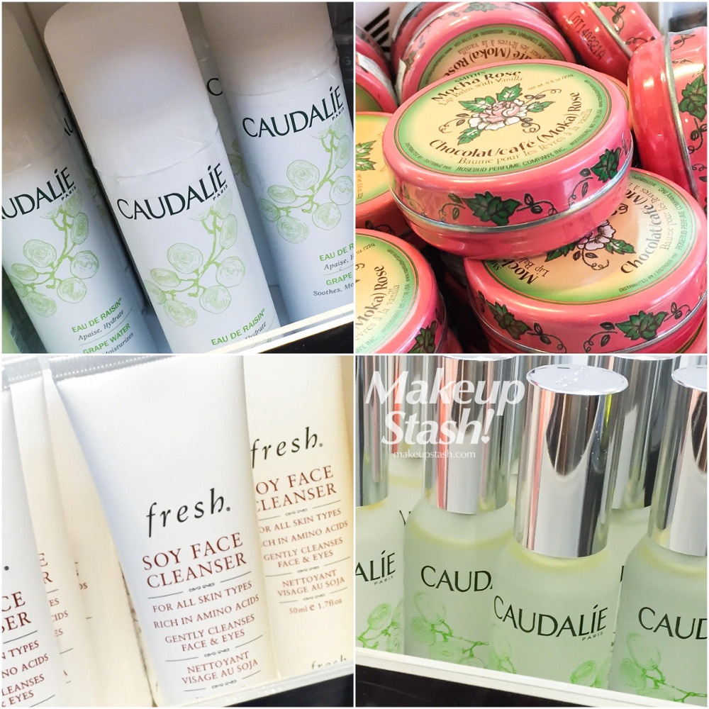 Caudalie, Smith Rosebud Salve and Fresh Minis at Sephora Singapore ION