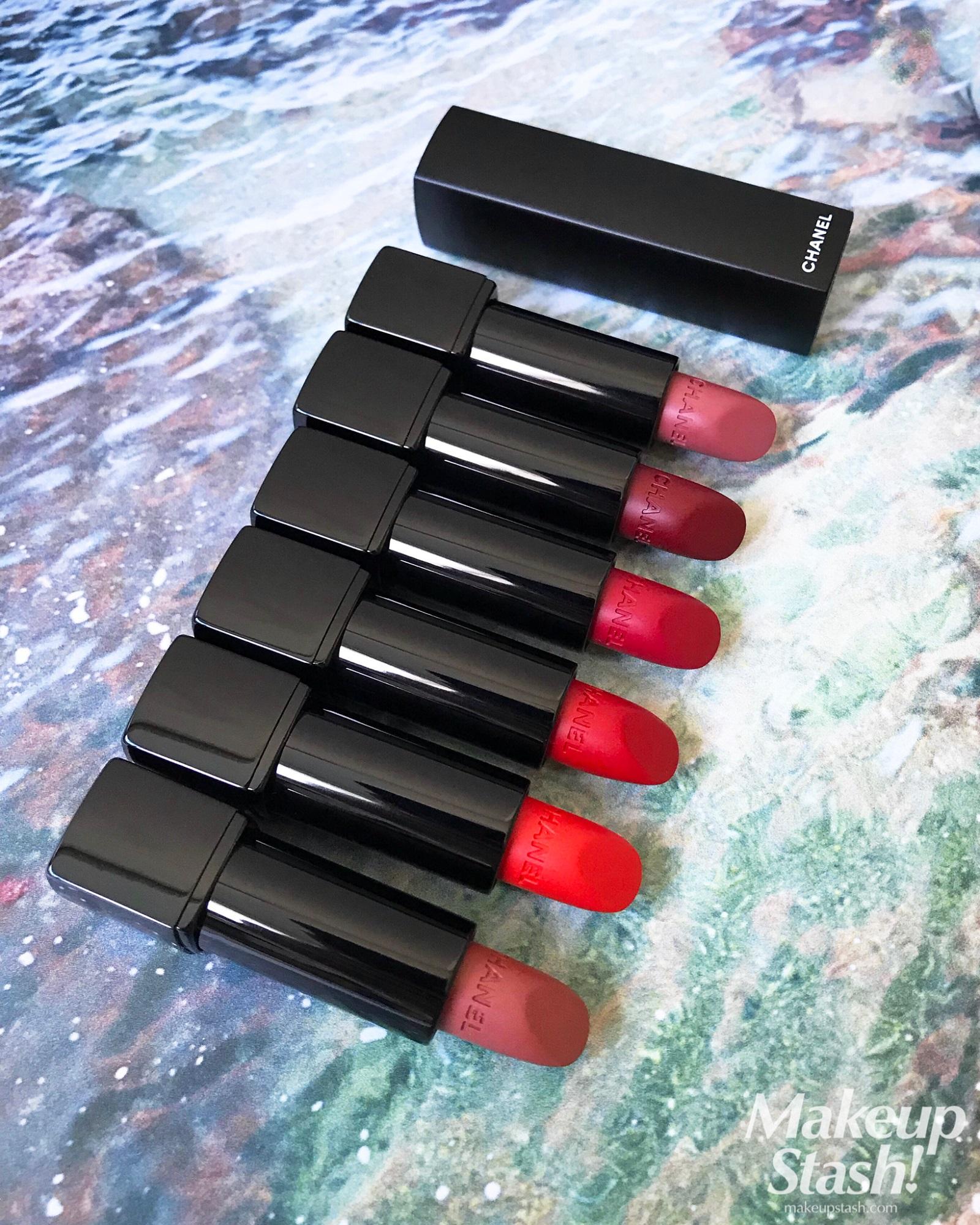 9f7474f972717a New Chanel Rouge Allure Velvet Extrême Intense Matte Lip Colours