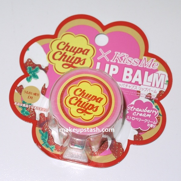 Review | Chupa Chups Kiss Me Lip Balm in Strawberry Cream