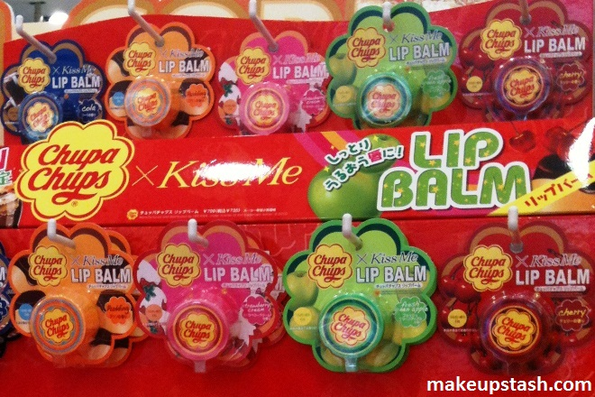 Chupa Chups x Kiss Me Lip Balm and Lip Gloss