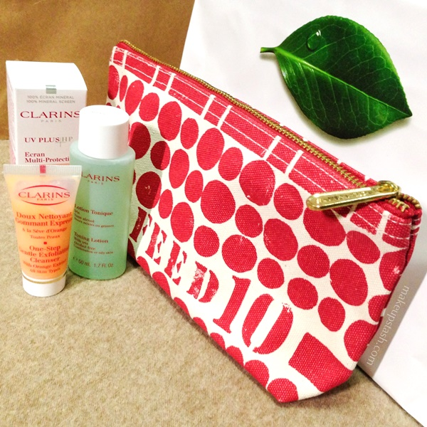 Clarins FEED 10 Set for Christmas 2013