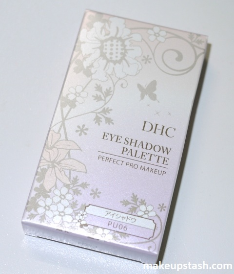 Review | DHC Perfect Pro Makeup Eye Shadow Palette in PU06