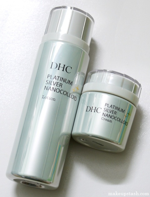Review | DHC Platinum Silver Nanocolloid Lotion and Cream