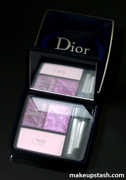 Review | Dior Smoky 3 Couleurs Ready-to-Wear Smoky Eyes Palette in 961 Smoky Violet