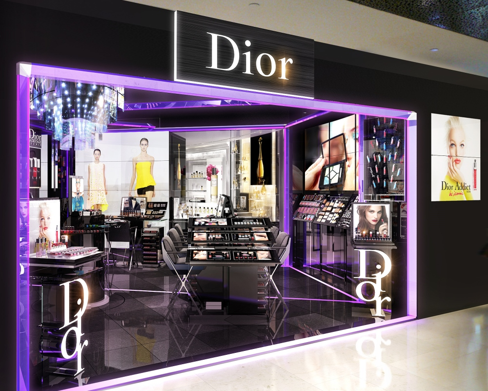 Dior Backstage Studio at Ion Orchard