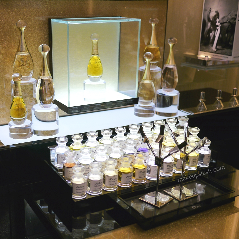 Dior J'Adore Scent Bar at Dior Backstage Studio Ion Orchard