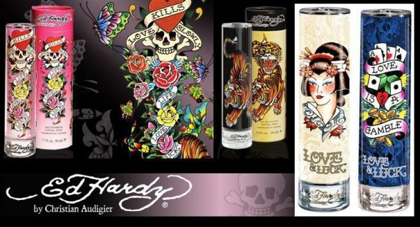 Ed Hardy at Sephora Singapore