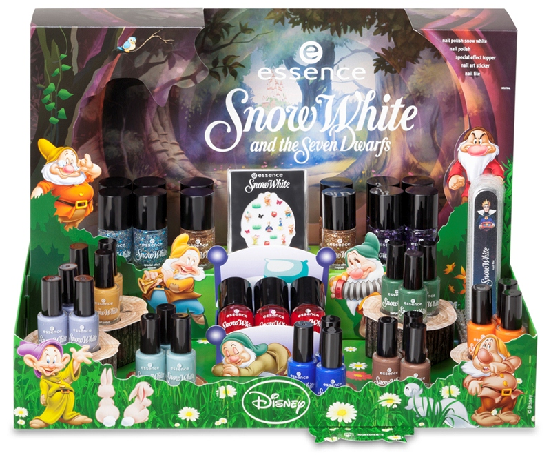 Essence Snow White and the Seven Dwarfs Nail Collection in Singapore
