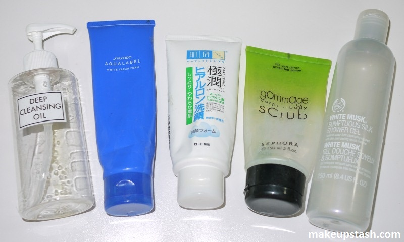 Some Recent Skincare and Bath & Body Empties