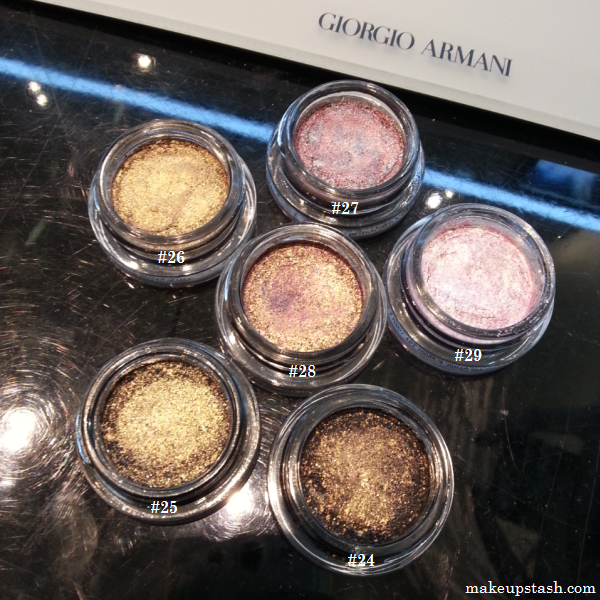 Giorgio Armani Beauty Acqua Collection Eyes To Kill Intense Eyeshadows for Summer 2012