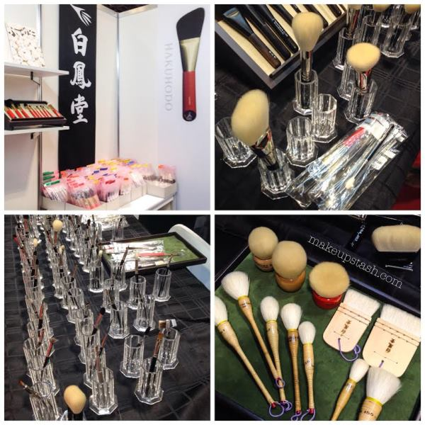 Hakuhodo Brushes at BeautyAsia 2014