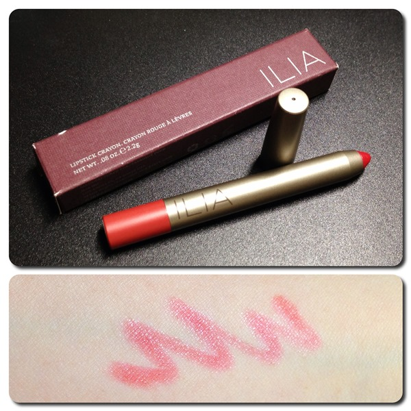 Review | Ilia Beauty Lipstick Crayon in 99 Red Balloons