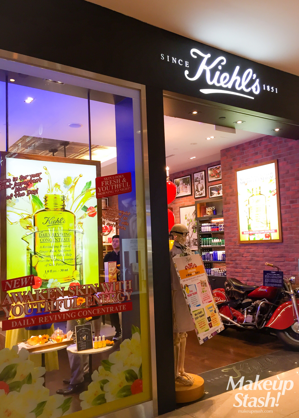 Revamped Kiehl's Store at VivoCity Singapore