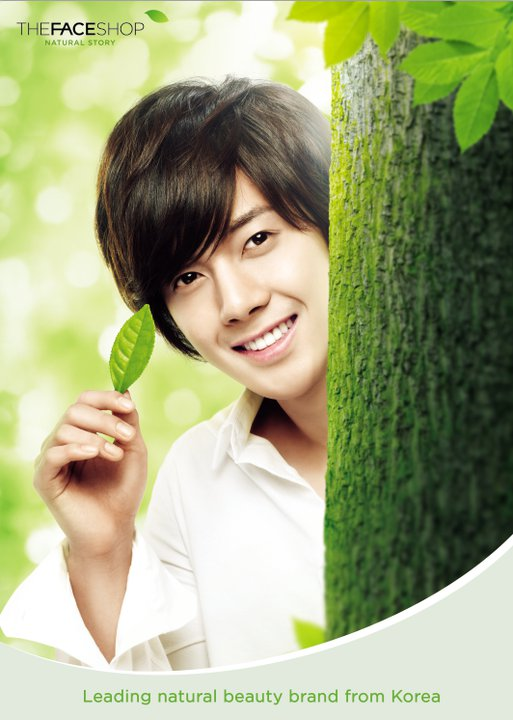 Kim Hyun Joong for The Face Shop…and in Singapore!