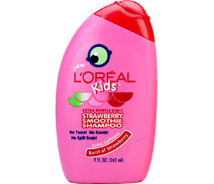 Review | L'Oréal Kids Strawberry Smoothie 2-in-1 Shampoo for Extra Softness