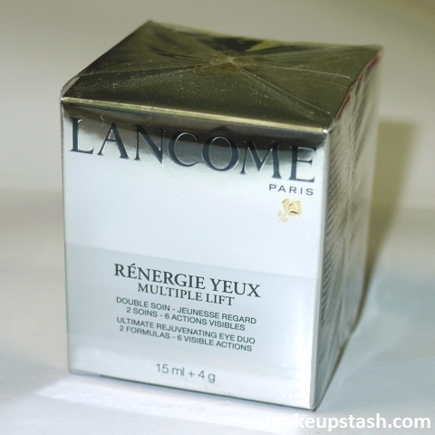 Review | Lancôme Rénergie Yeux Multiple Lift Ultimate Rejuvenating Eye Duo