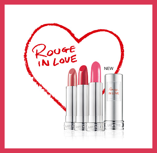 Lancôme Rouge In Love Lipsticks (Asia Edition)