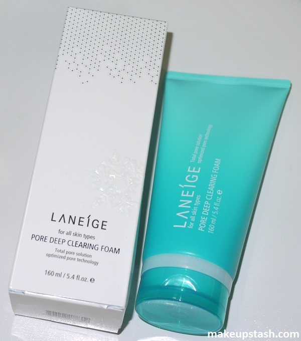 Review | Laneíge Pore Deep Clearing Foam