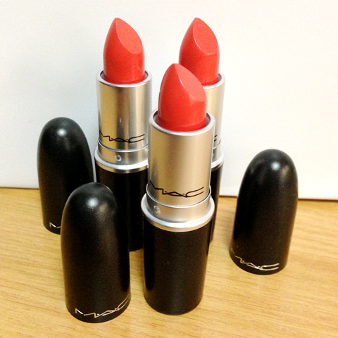 MAC All About Orange MAC PRO Amplified Lipstick in Neon Orange x 3