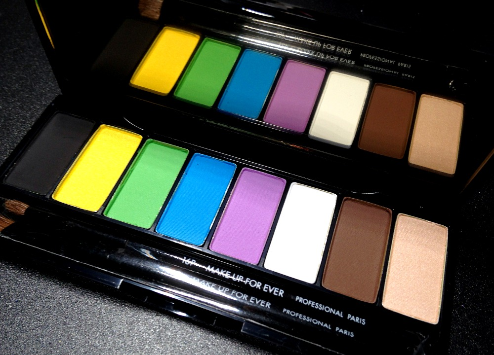 Make Up For Ever Technicolor Palette Open