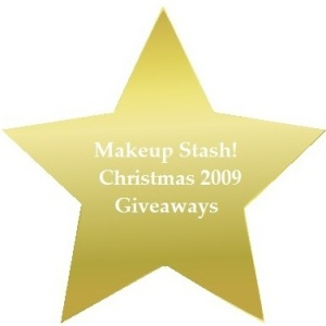 Makeup Stash! Christmas 2009 Giveaway #2 Winners