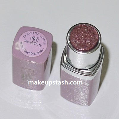 Makeup Memories | Maybelline Water Shine Diamonds Lipstick in Jewel Berry