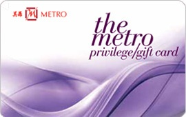 Metro Privilege/Gift Card