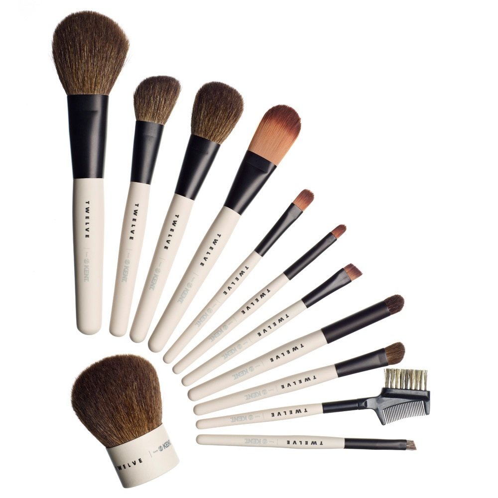 New Look for Kent's Twelve Makeup Brushes
