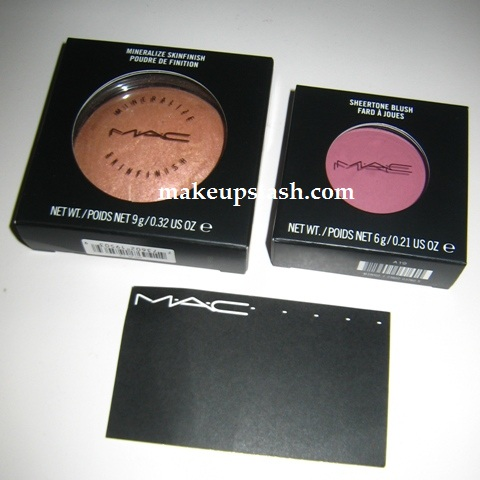 Final Makeup Haul of 2009 – MAC By Candlelight and MAC Coygirl