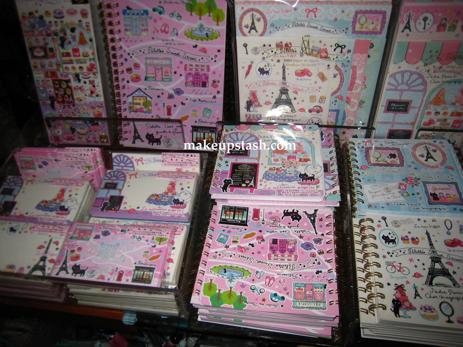 Palette's Sweet Street Stationery at Kinokuniya