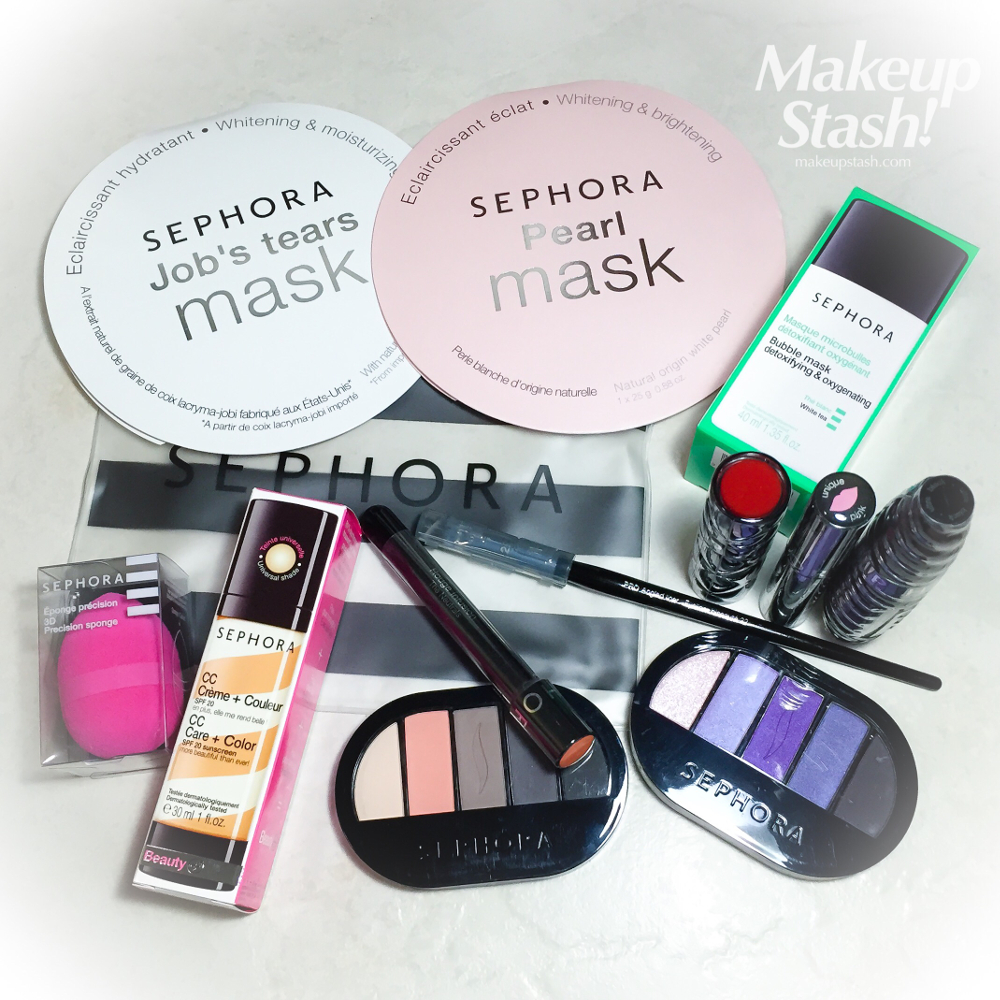 Sephora Brand Faves Giveaway August 2015