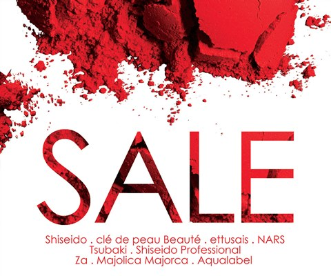 Details on the Shiseido Sale…also known as the Clé de Peau Beauté, Ettusais, Maquillage and Nars Sale!