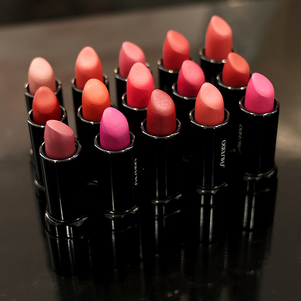 New Shiseido Perfect Rouge &amp; Perfect Rouge Tender Sheer Lipsticks for Spring/Summer 2013