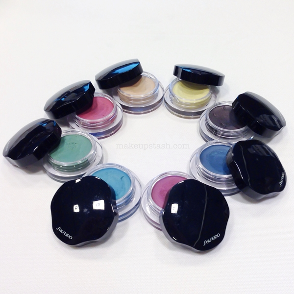 Shiseido Spring 2014: New Shiseido Shimmering Cream Eye Colors