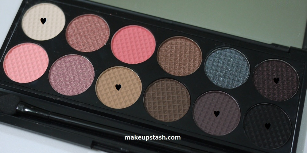 EOTD | Sleek Makeup Oh So Special Eyeshadow Palette &#8211; Celebrate Noir Wrapped Up with a Bow in The Mail