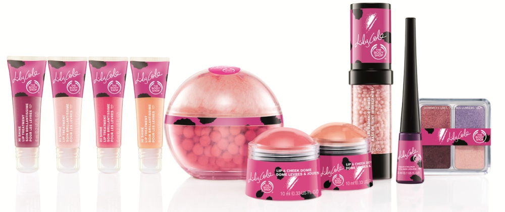 The Body Shop Lily Cole Makeup Collection for Summer 2012