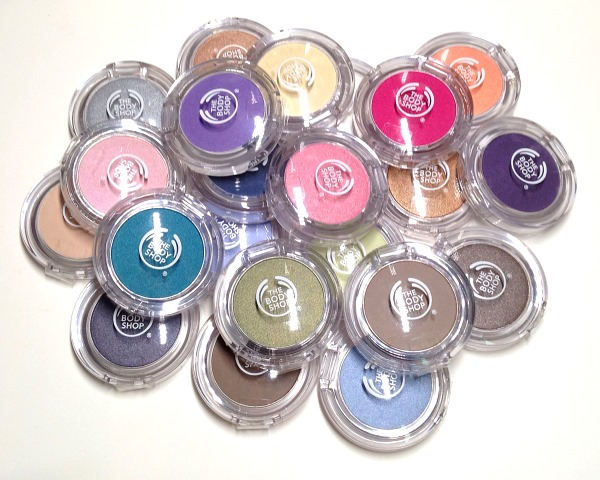 The Body Shop Colour Crush Eye Shadows