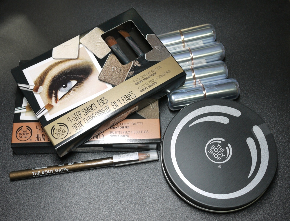 The Body Shop Winter Trend 2012 Makeup Collection
