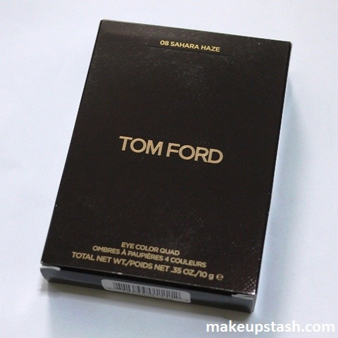 Review | Tom Ford Beauty Eye Color Quad in 08 Sahara Haze