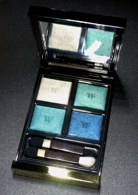 Tom Ford Eye Color Quad in Emerald Lust Open
