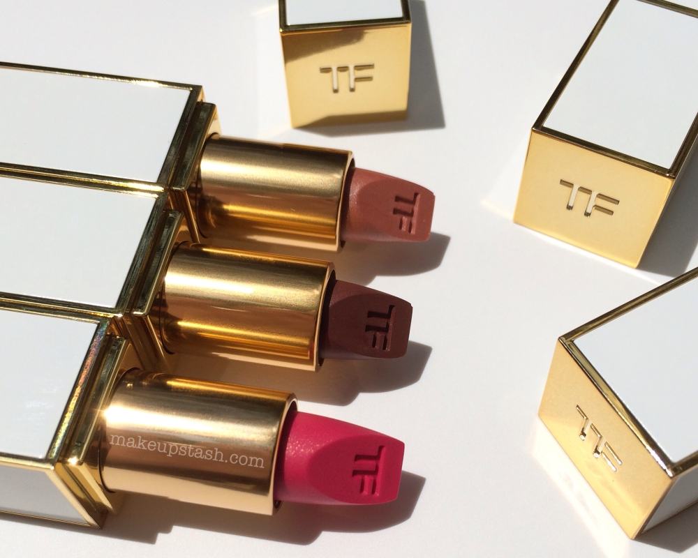 Review | Tom Ford Beauty Lip Color Sheer Lipsticks in 02 Pink Dune, 03 Bittersweet and 06 Incorrigible