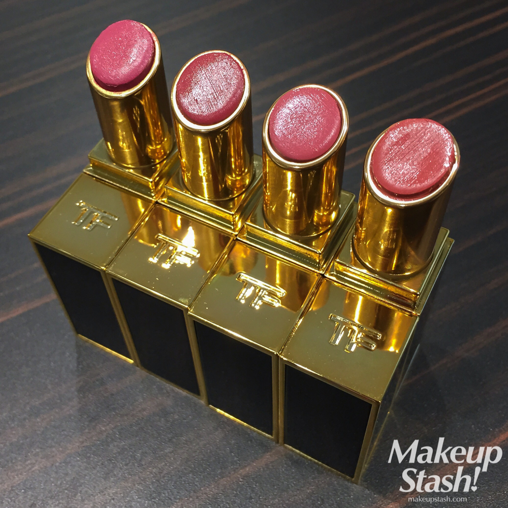 New Tom Ford Beauty Lip Color Shine Lipsticks for 2015